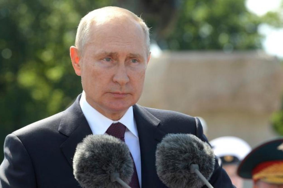 Владимир Путин. Фото: Alexei Druzhinin/Kremlin Pool/Keystone Press Agency/www.globallookpress.com