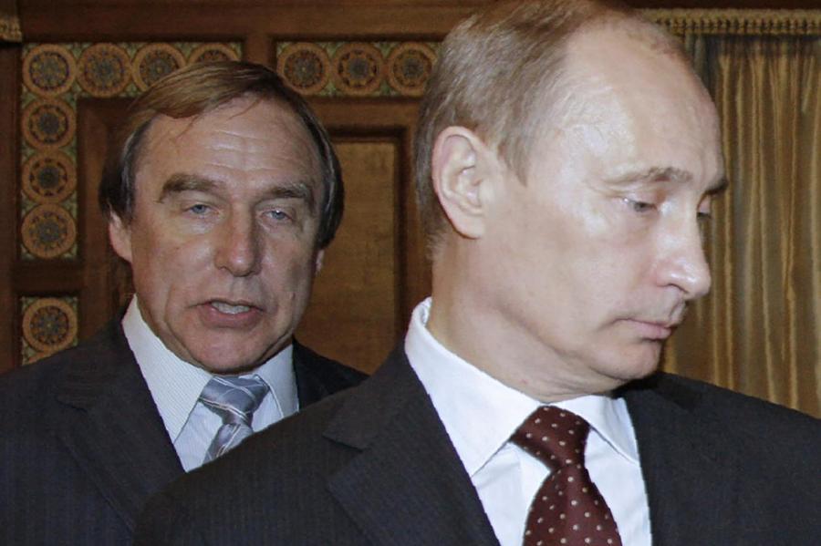 Ролдугин и Путин (2009 год).