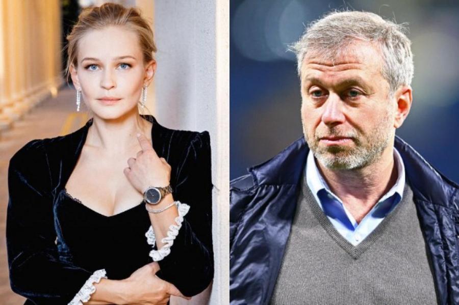 Юлия Пересильд и Роман Абрамович    ФОТО Instagram