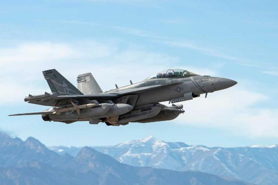 Boeing EA-18G Growler. Фото: US Navy/via Globallookpress.com/www.globallookpress.com