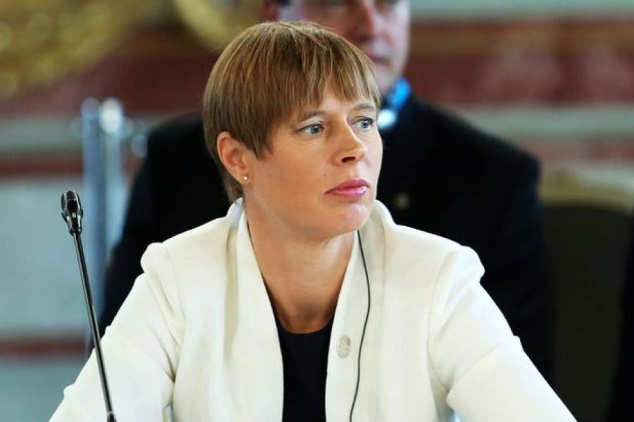 Президент Эстонии, фото LETA