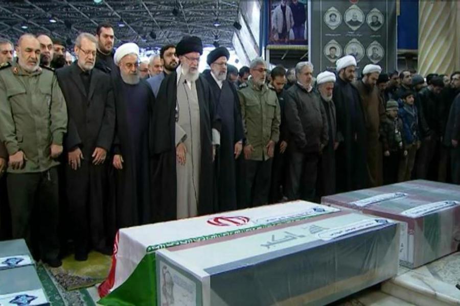 Похороны Сулеймани.