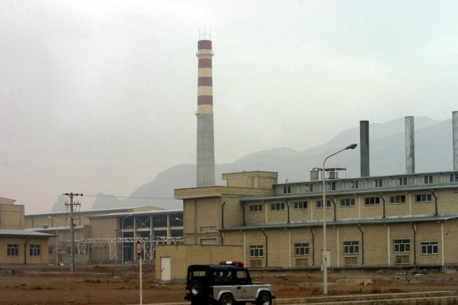Один из ядерных объектов Ирана в Натанзе, в 300 км к югу от Тегерана.
