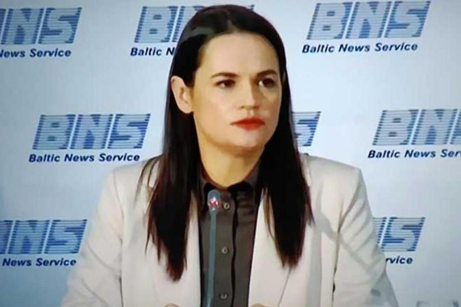 Светлана Тихановская. Фото: Виктор Лисицын/www.globallookpress.com