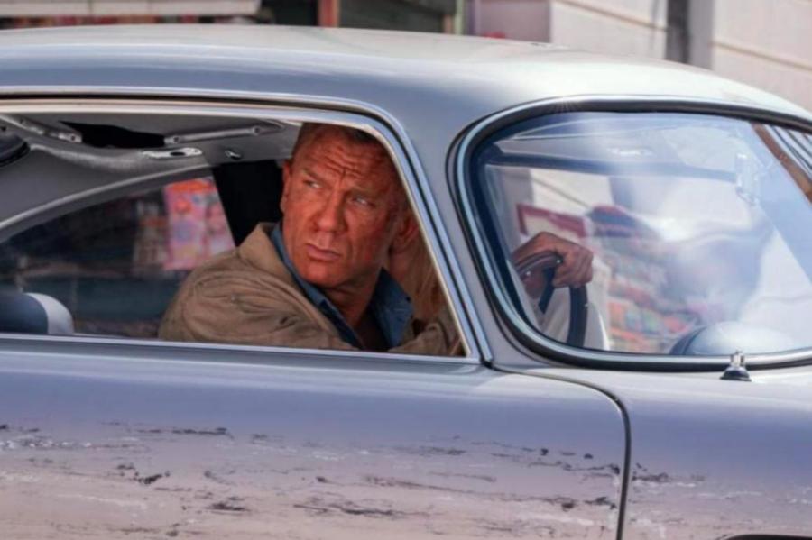 Кадр из фильма «Не время умирать» IMDB