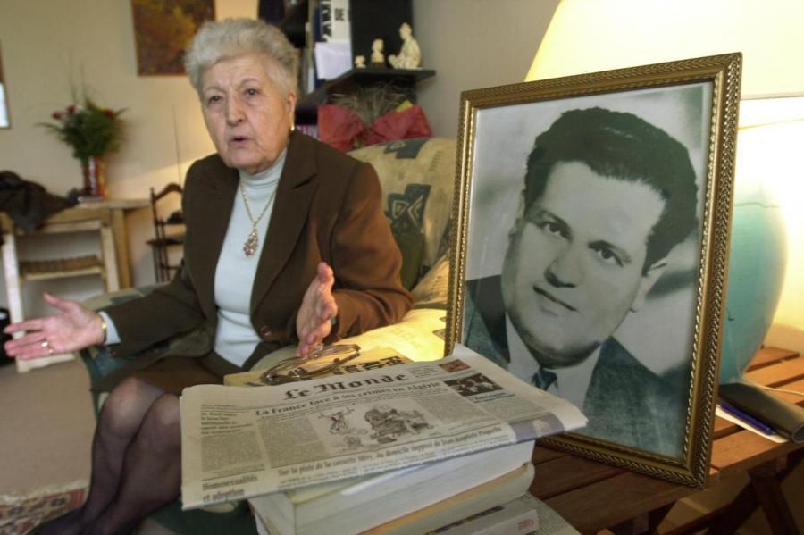 Вдова алжирского героя (на фото) живет в стране оккупатов, во Франции.