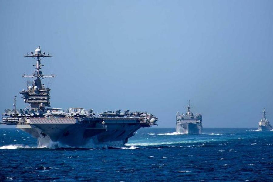 Фото: US Navy/via Globallookpress.com/www.globallookpress.com