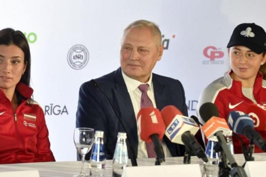Глава Латвийского теннисного союза Юрис Савицкис верит, что с помощью Анастасии Севастовой и Алены Остапенко соперницы из Индии будут обыграны.