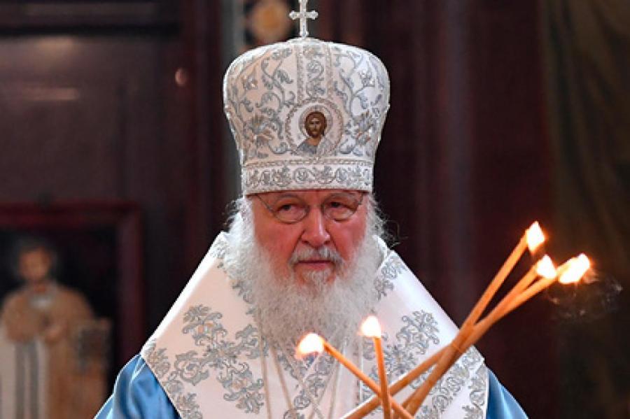 Патриарх Кирилл Фото: РИА Новости