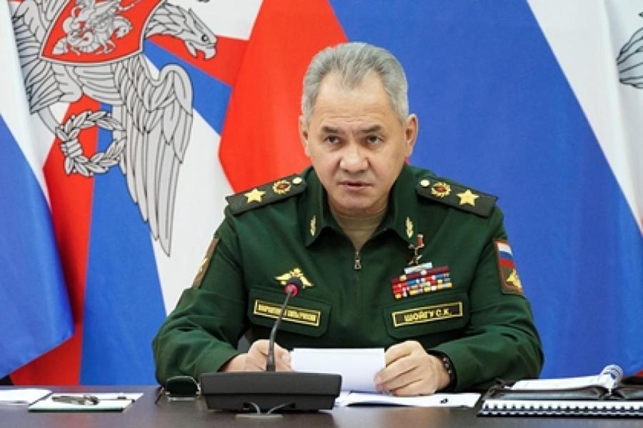 Сергей Шойгу Фото: Министерство обороны РФ / РИА Новости