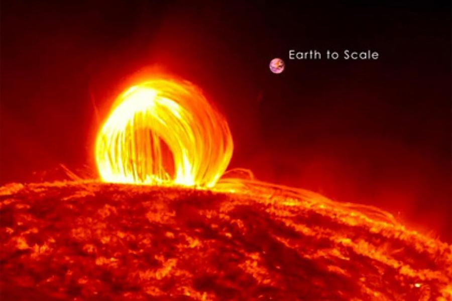 Изображение: NASA / SDO / Goddard Scientific Visualization Studio