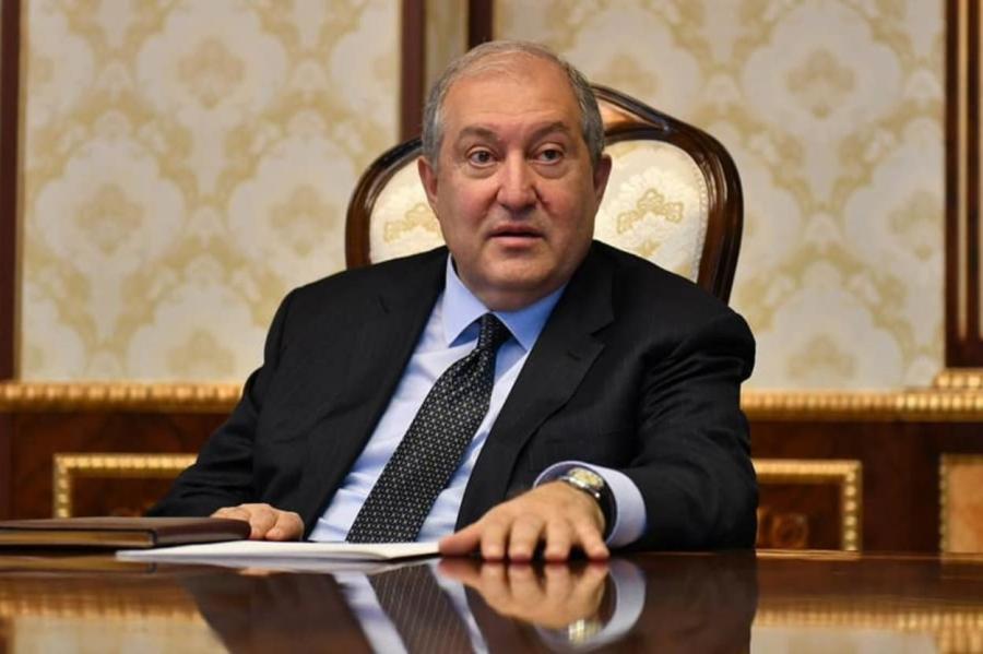 Сайт президента Армении