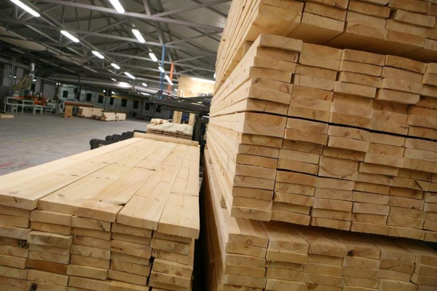 BB.lv: В мире взлетели цены на пиломатериалы; на экономику Латвии это сильно повлияло