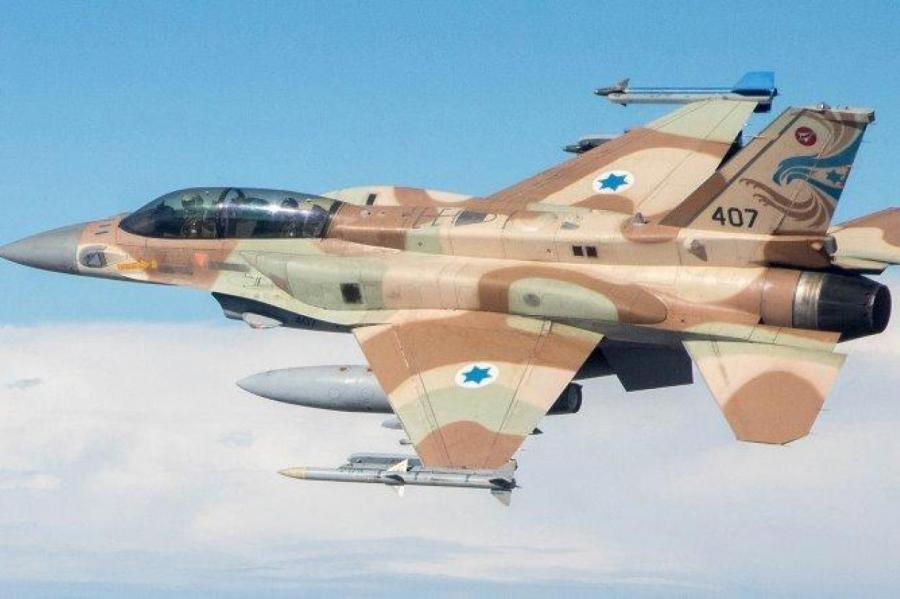 Израильские ВВС ищут противника.