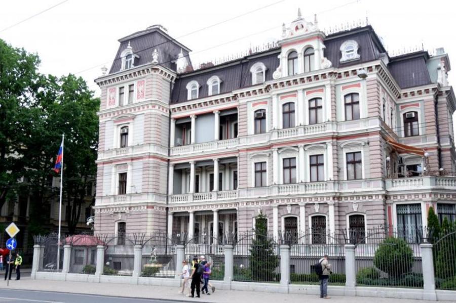 Посольство России в Латвии.