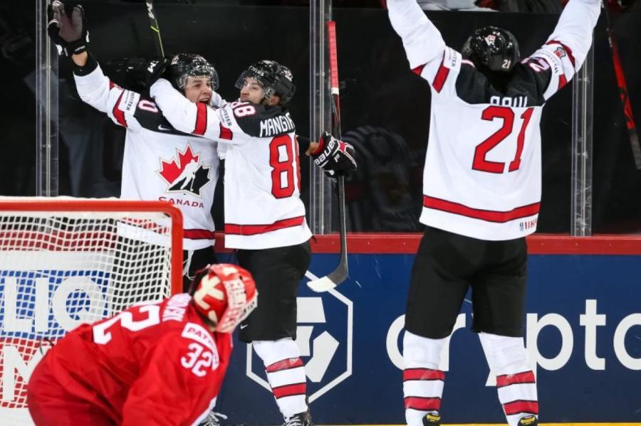 Сборная Канады, потерпев на старте чемпионата мира в Риге три поражения, разыгралась настолько, что снова вышла в финал, как и в 2019 году.