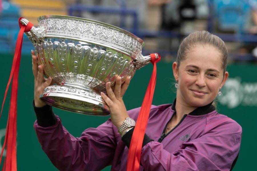 Своей победой в Истбурне Алена Остапенко обозначила свои претензии перед стартом на Уимблдоне.