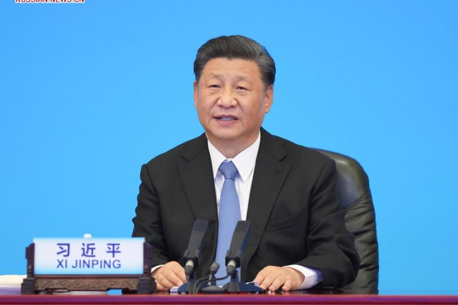 Председатель КНР Си Цзиньпин (фото: Синьхуа).