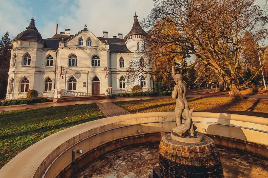 Балдоне некогда был одним из старейших и популярнейших бальнеологических курортов в Прибалтике.