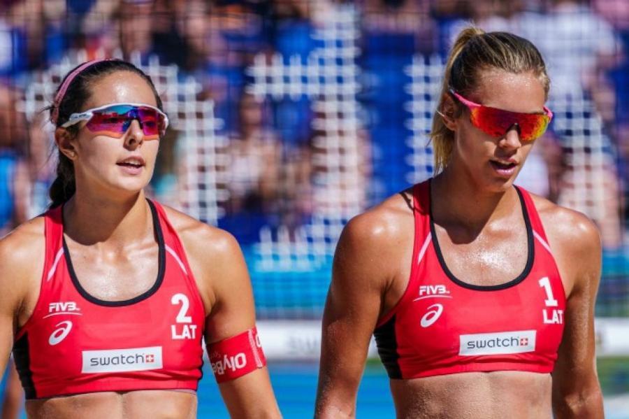Пляжные волейболистки Тина Граудиня и Анастасия Кравченок к Олимпиаде в Токио готовы!