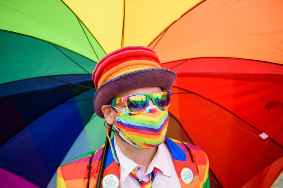 ЛГБТ-движение с каждым годом все активнее Gregor Fischer/dpa/www.globallookpress.com