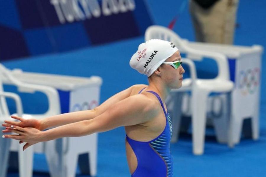 Иева Малюк не рассчитала свои силы на дистанции 200 метров вольным стилем, с самого начала задав слишком высокий темп.