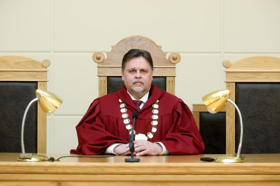 Председатель Верховного суда (ВС), председатель Совета юстиции Айгарс Струпишс.
