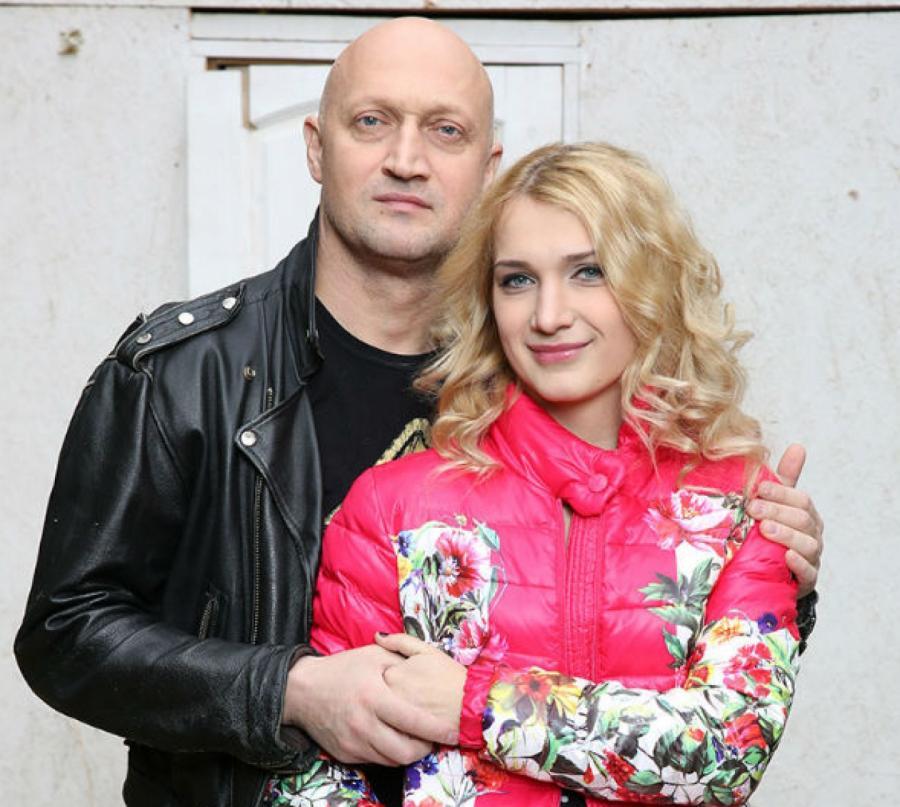 Гоша Куценко сдочерью Полиной