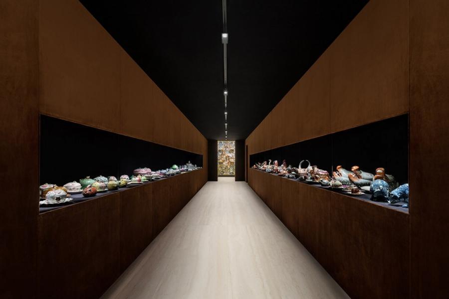 Выставка The Porcelain Room – Chinese Export Porcelain в Fondazione Prada  © Fondazione Prada