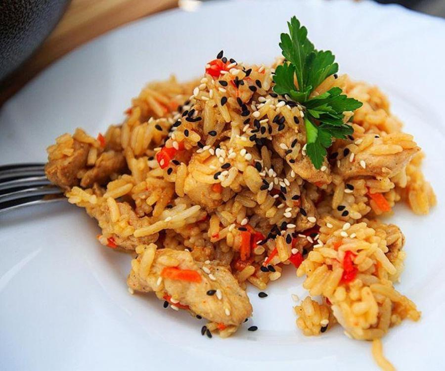 Рис в китайском стиле