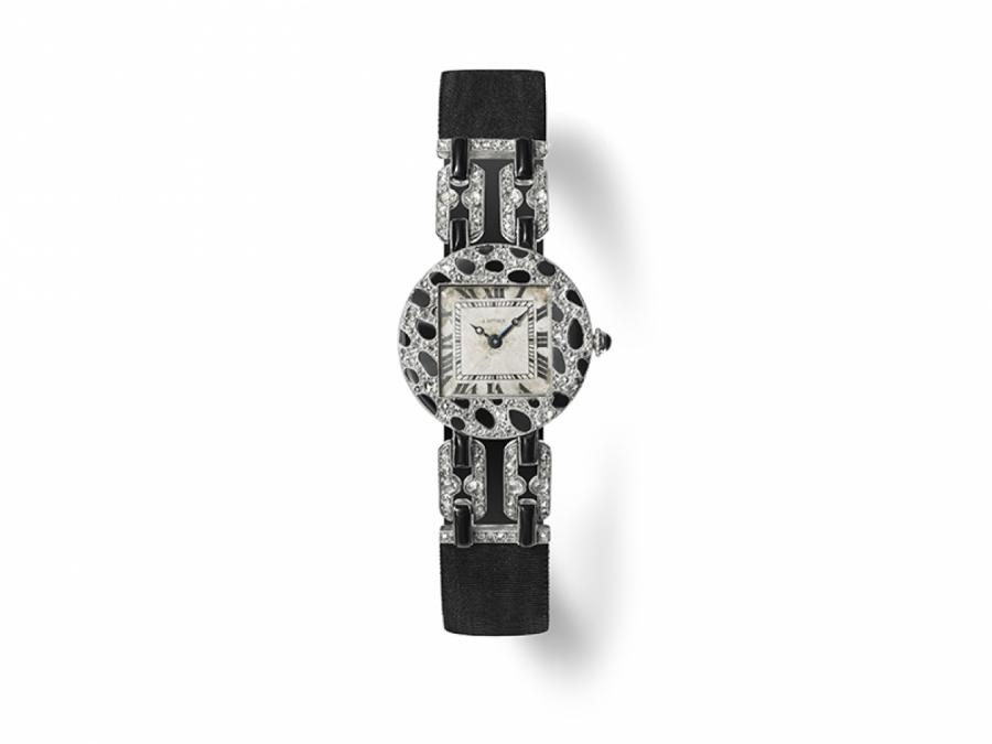 © ПРЕСС-СЛУЖБА   Женские часы Cartier, 1914 год