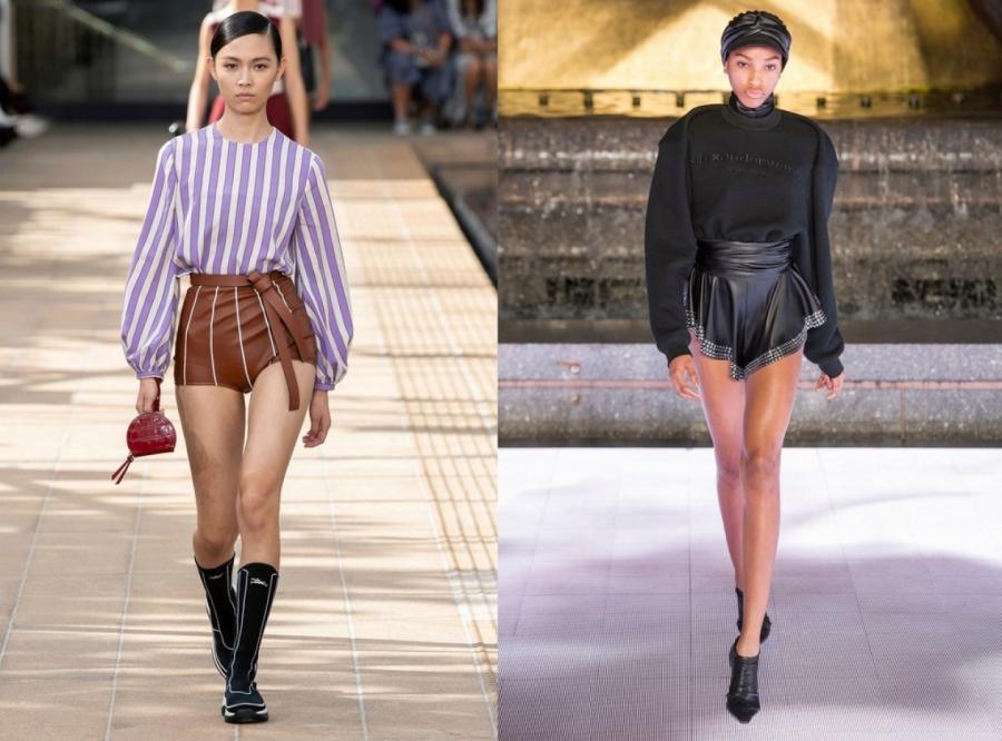 Longchamp, Alexander Wang весна-лето 2020