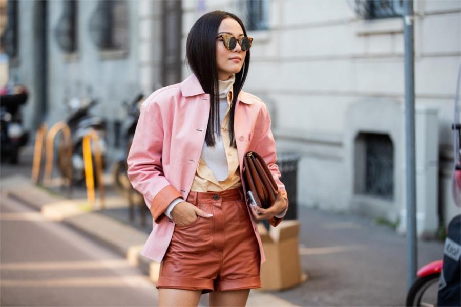 Йойо Као на Неделе моды в Милане, февраль 2020