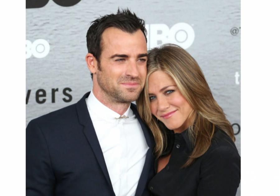 Джастин Теру и Дженнифер Энистон  фото: Getty Images
