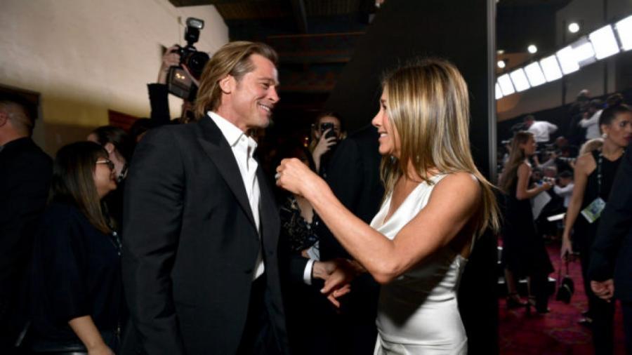 Брэд Питт и Дженнифер Энистон  фото: Getty Images