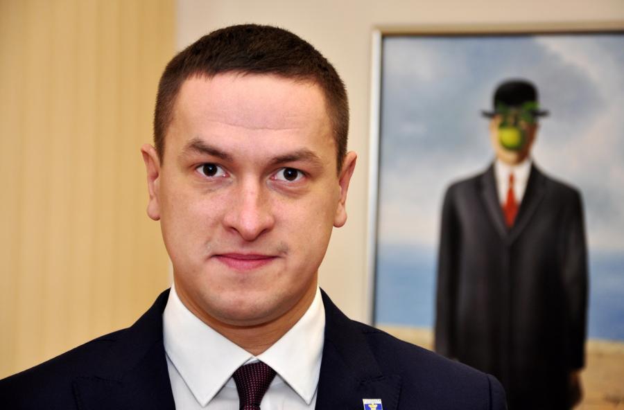 Встречайте: новый мэр Даугавпилса Игорь Прелатов.