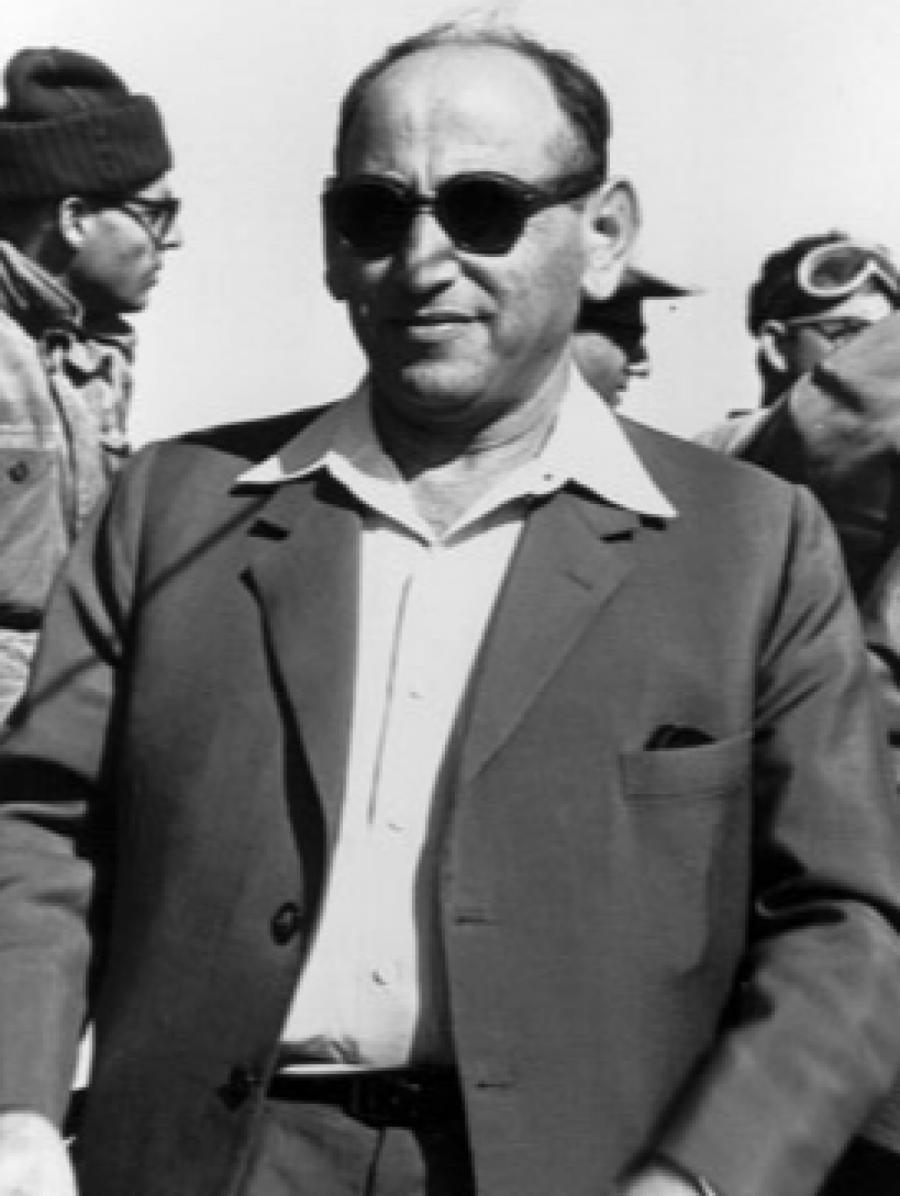 Один из создателей МОССАДа Иссер Харель.