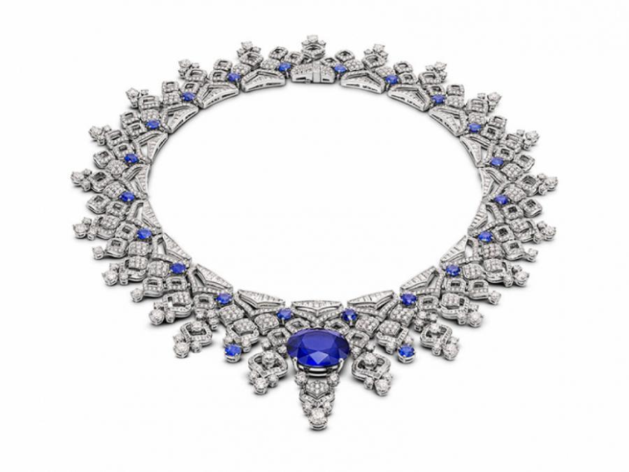 Колье Sapphire Lace, сапфир 28,11 карата  ПРЕСС-СЛУЖБА
