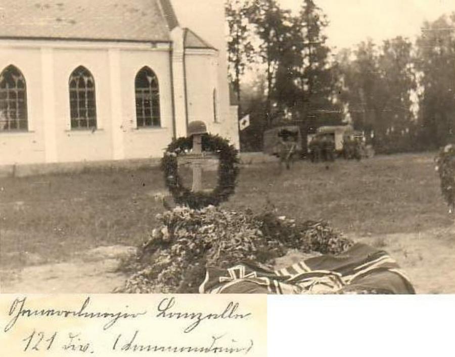Могила генерал-майора Ланселя (Ланцелле) в Краславе возле лютеранской церкви, https://latgalesdati.du.lv/persona/4632