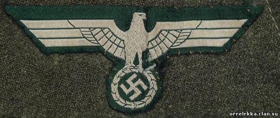Орёх гитлеровского Вермахта —такой же, как на автомобиле на фото, сделанном в Латвии