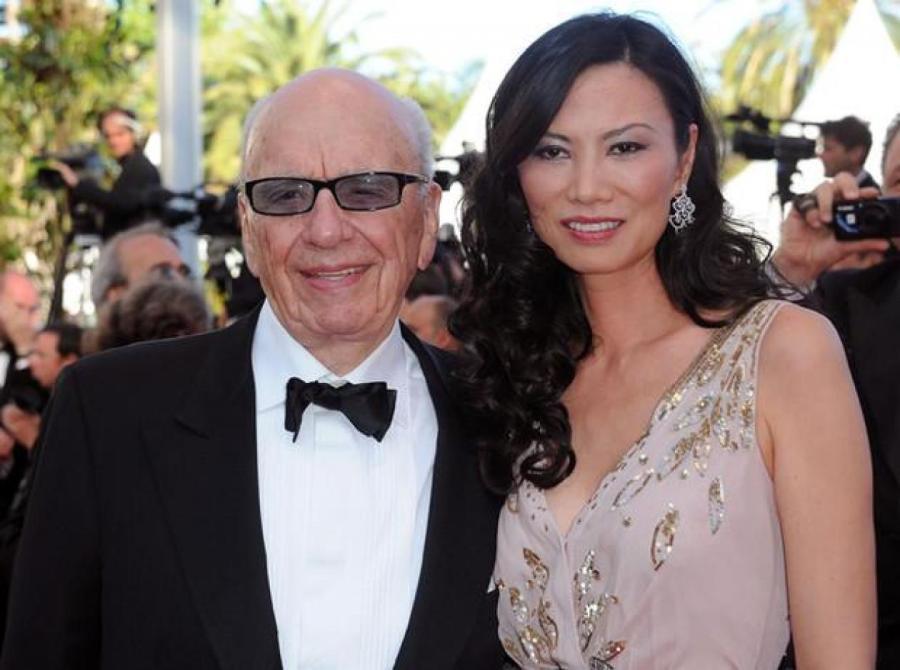 Венди Денг с мужем Рупертом Мердоком на премьере фильма «Древо жизни», Каннский фестиваль, 2011 год    Фото: Getty Images, Legion-Media