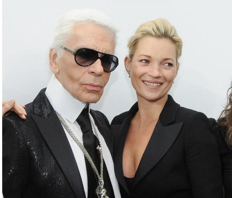 Карл Лагерфельд и Кейт Мосс, 2009  Фото: Getty Images
