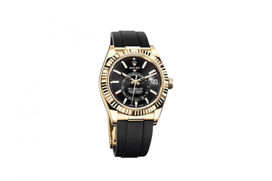 Часы Oyster Perpetual Sky-Dweller, Rolex   ПРЕСС-СЛУЖБА