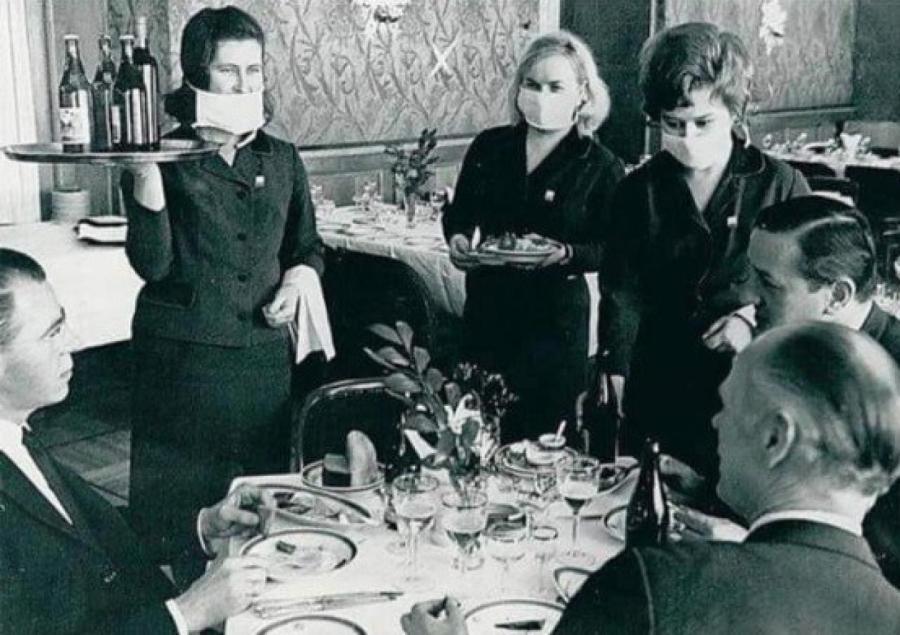 50 лет назад в СССР имели опыт обслуживания в условиях пандемии.