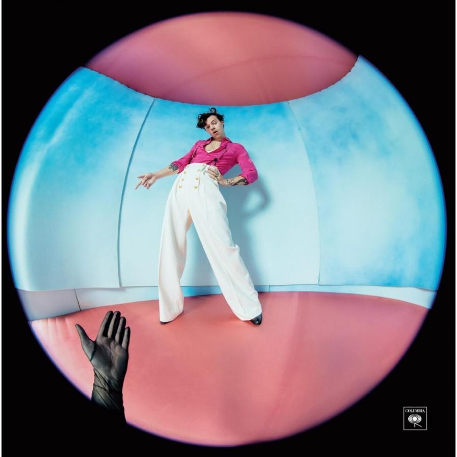Обложка альбома Fine Line Гарри Стайлса, 2019 год