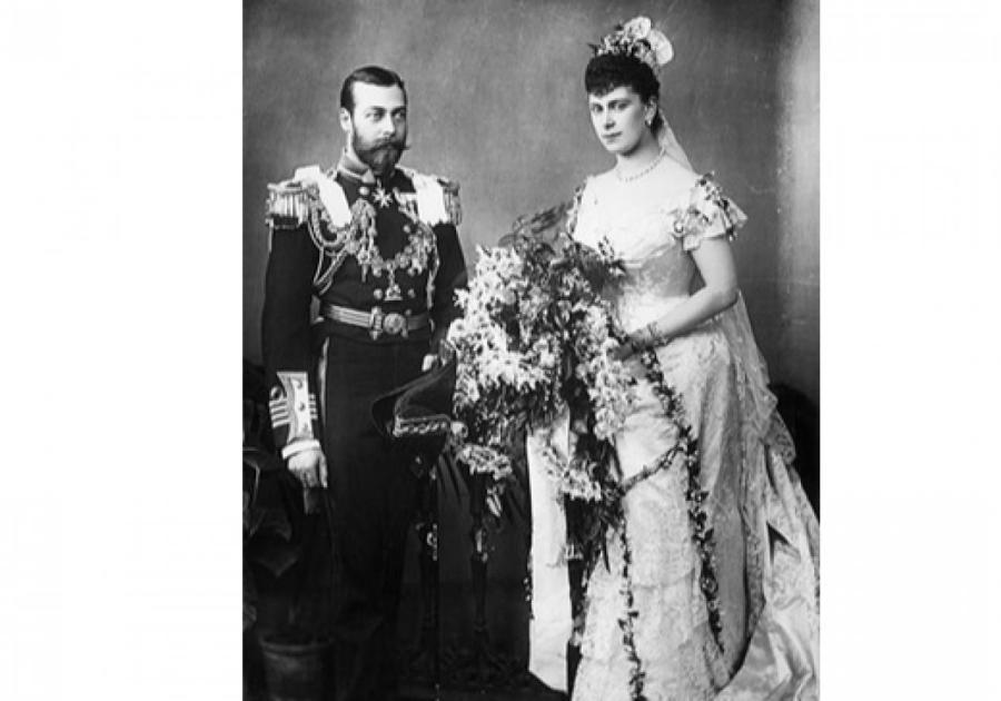 Cвадьба Георга V и Марии Текской, 6 июля 1893 года  Фото: Getty Images