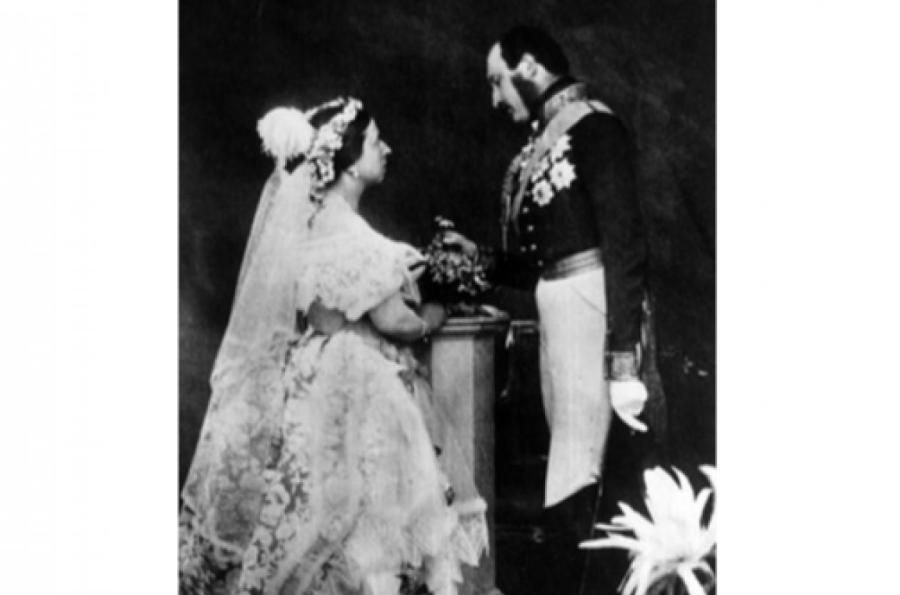 Свадьба королевы Виктории и Альберта Саксен-Кобург-Готского,1840 год  Фото: Getty Images