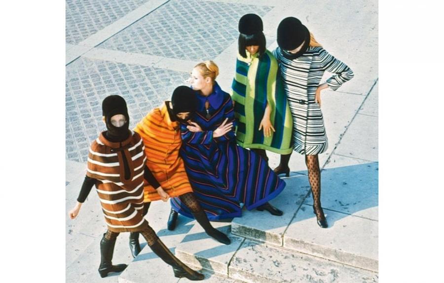 Кутюрная коллекция Pierre Cardin, 1966  Архив Vogue