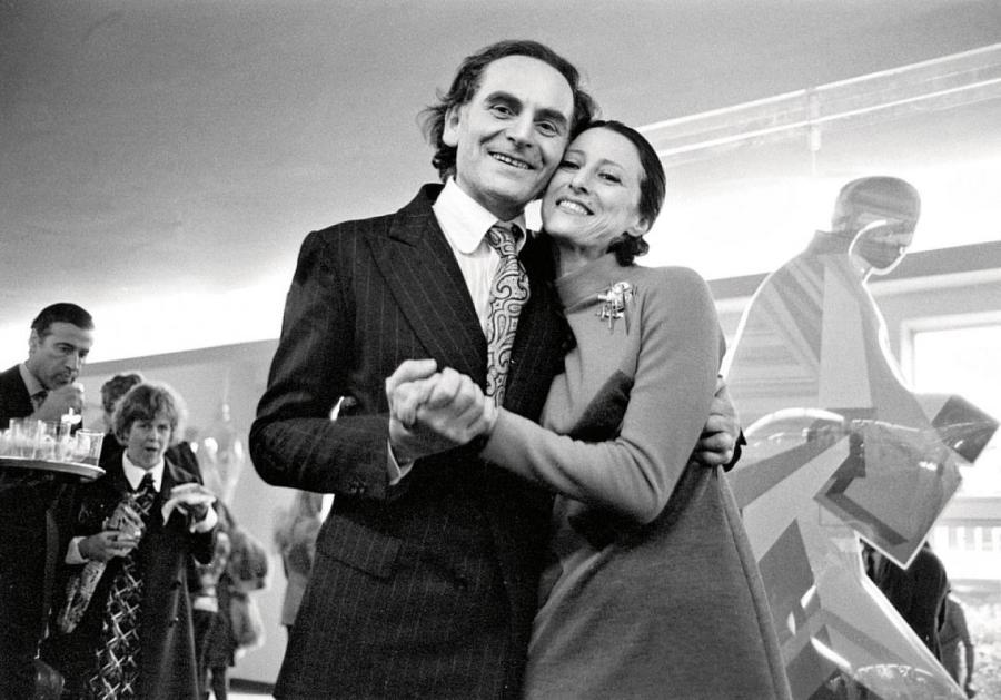 Пьер Карден с Майей Плисецкой  Fotodom