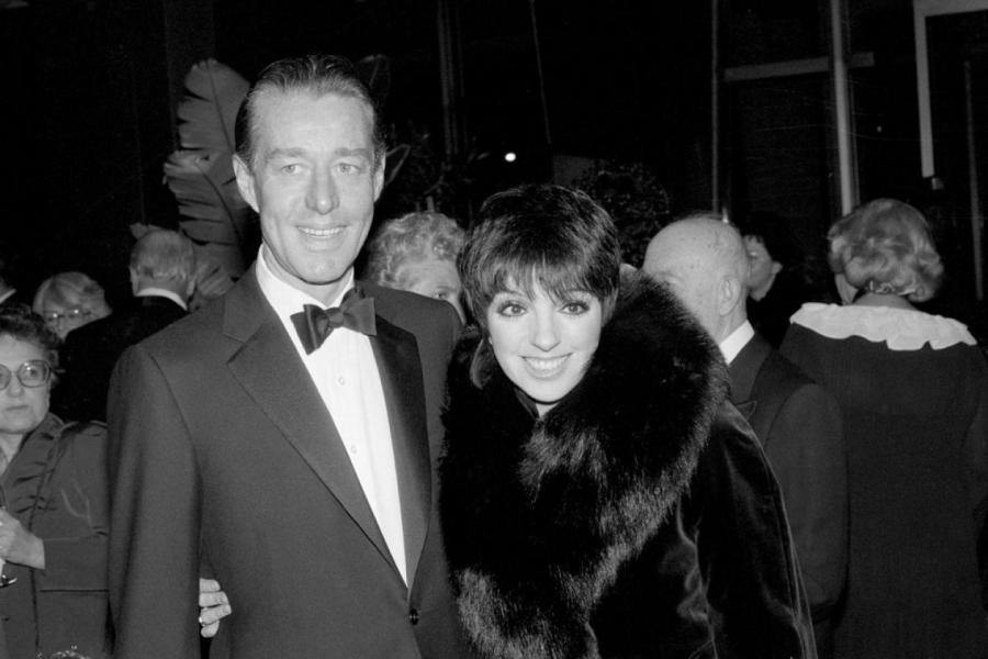 Рой Халстон и актриса и певица Лайза Миннелли, Нью-Йорк, 1983  Bettmann